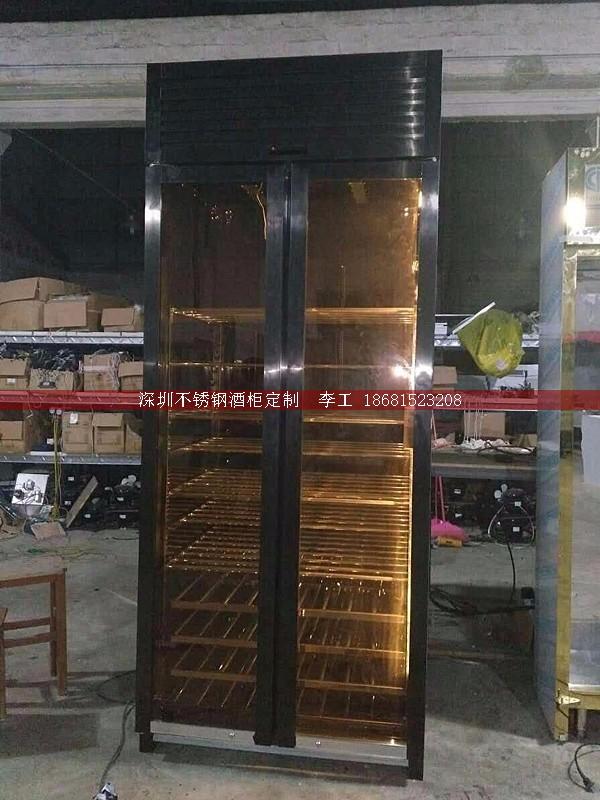 不锈钢酒柜定制-深圳市蕰莎酒柜酒窖有限公司 李工 186-8152-3208